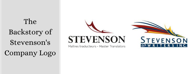 the new and old stevenson's logo