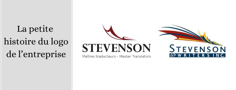 Ancien et nouveau logo Stevenson